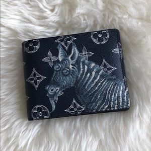 Louis Vuitton Zoo Zebra Limited Style Wallet